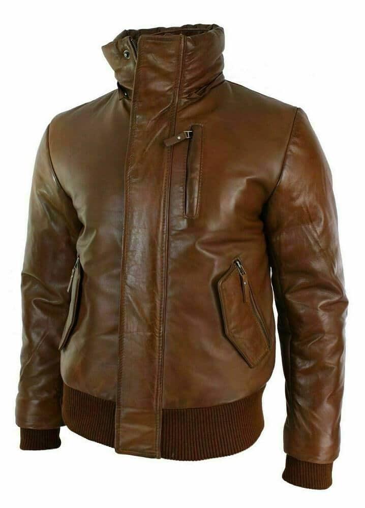 bomber jacket with fur hood