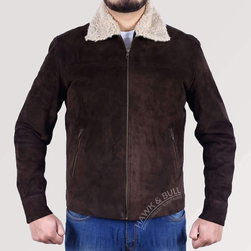 rick grimes jacket front side