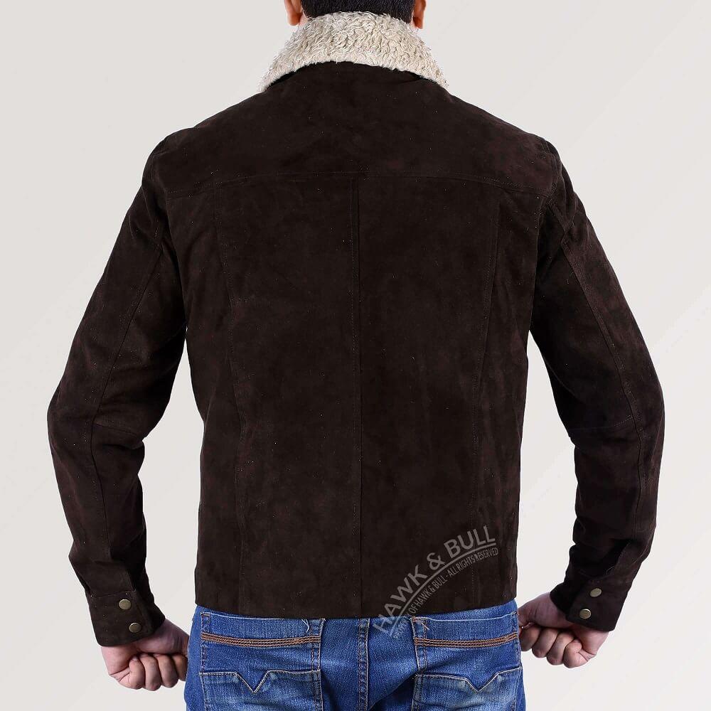 walking dead rick jacket back side