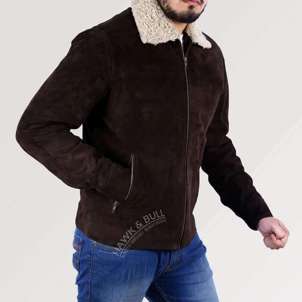 walking dead rick jacket left side