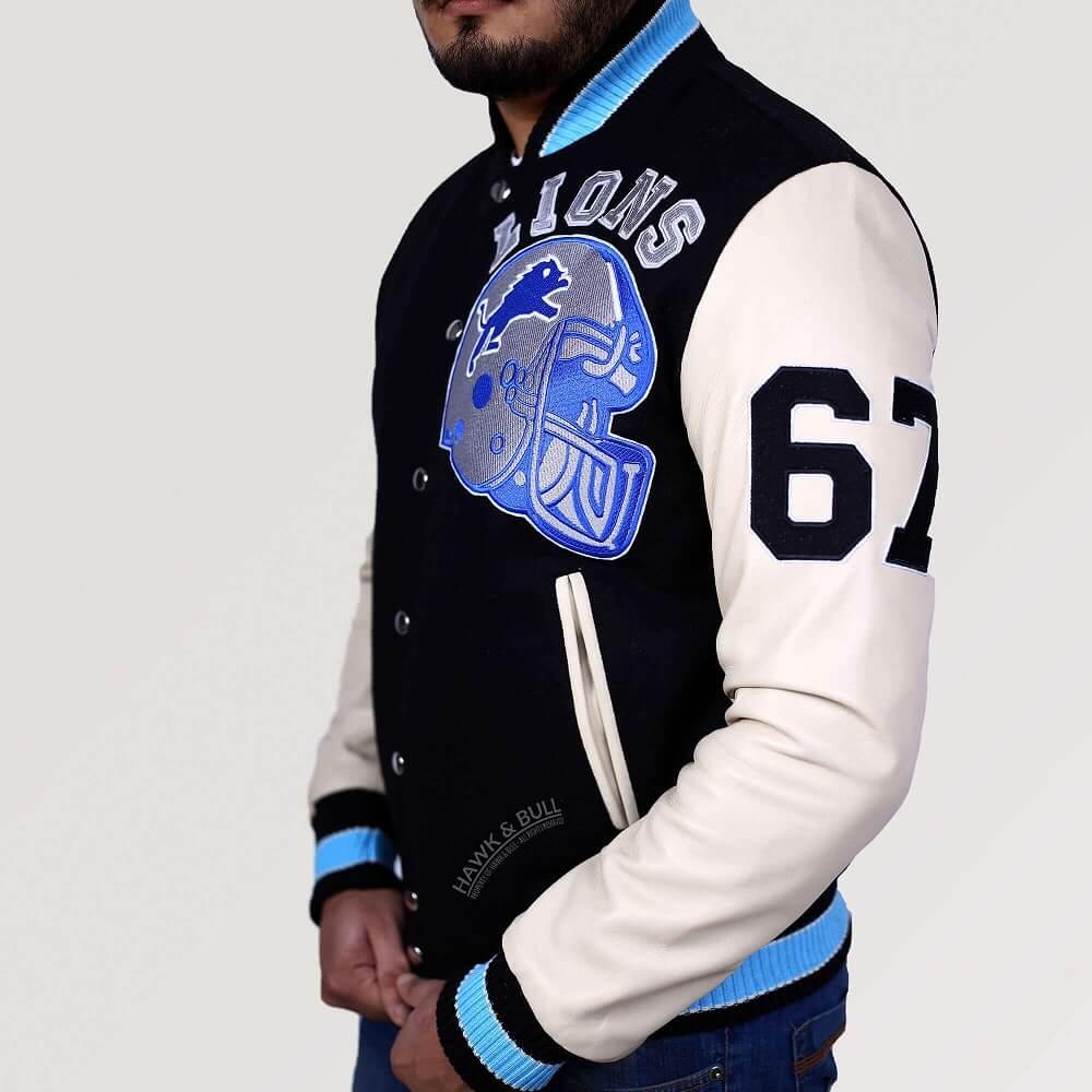axel foley detroit lions jacket