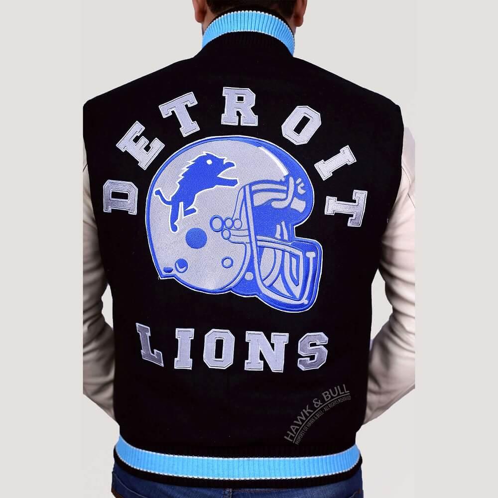 detroit lions jacket beverly hills cop close shot
