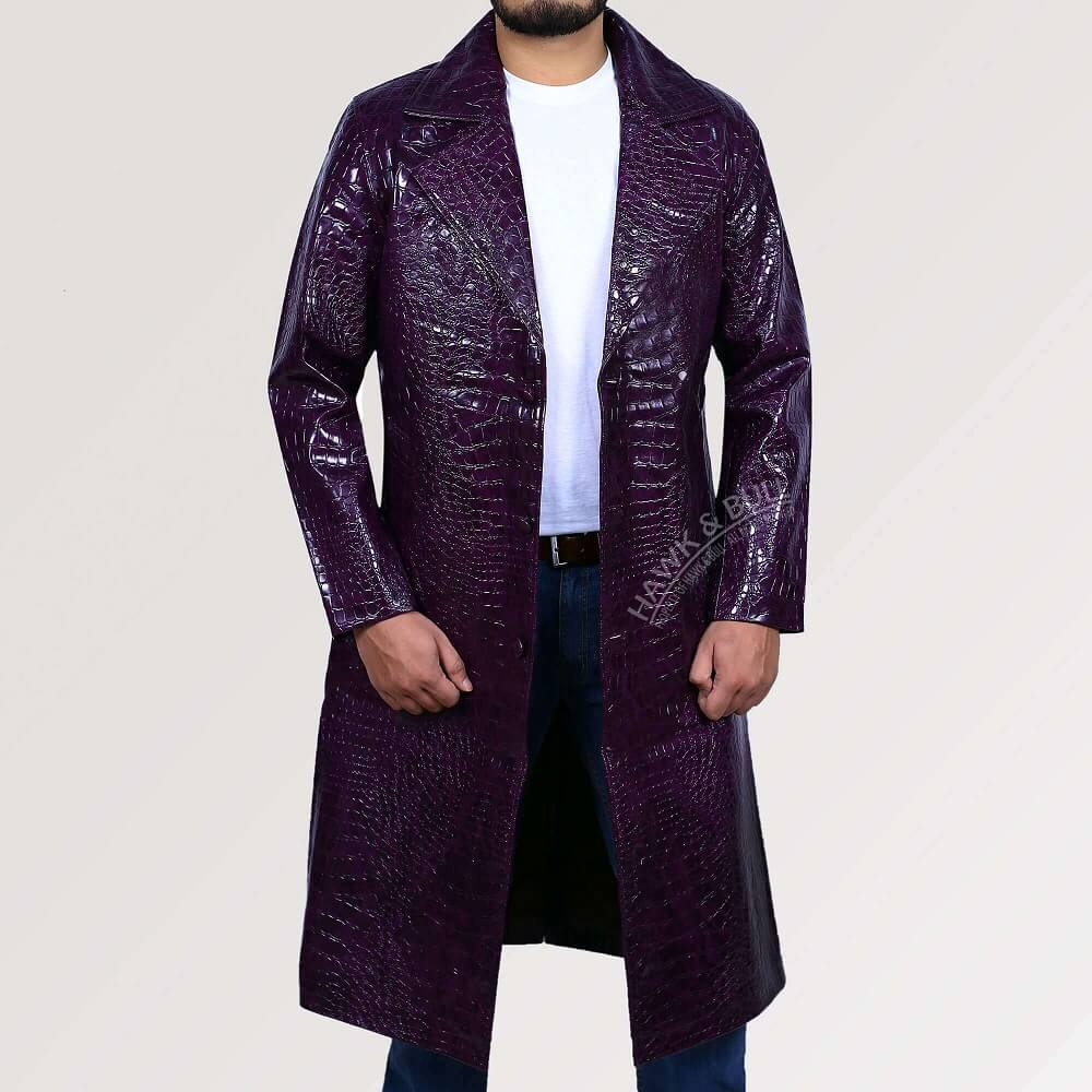 joker purple coat