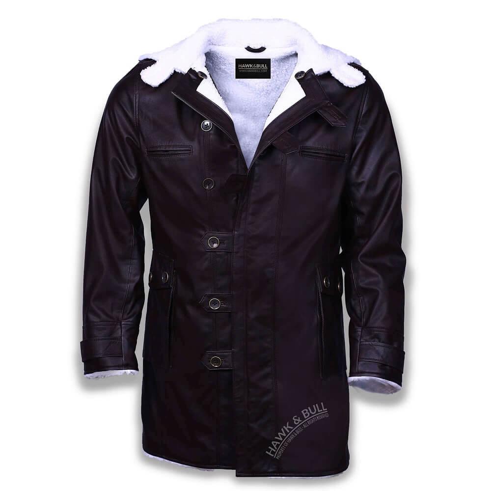 bane shearling coat