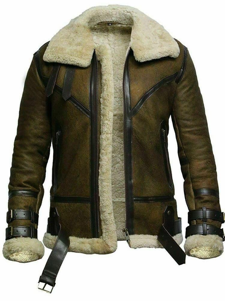 dark brown bomber jacket
